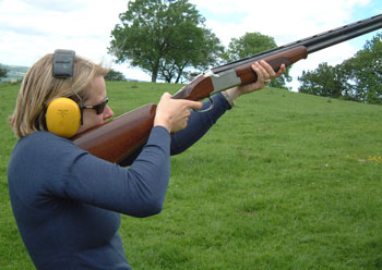 hen clay shooting